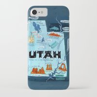 utah iPhone & iPod Cases featuring UTAH by Christiane Engel