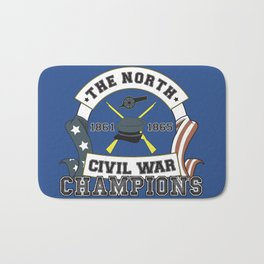 American Civil War Champions - Northern Pride - The Union - Parody Shirt Bath Mat