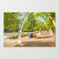 outdoor Canvas Prints featuring Outdoor by sannngat