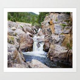 Poudre River Canyon Art Print