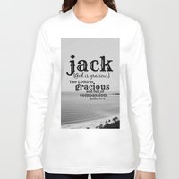 jack white Long Sleeve T-shirts featuring Jack by KimberosePhotography