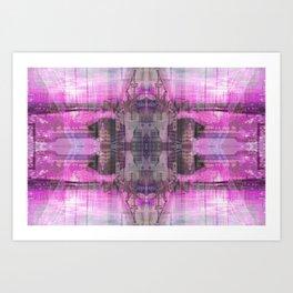 || C O L L A G E || Art Print
