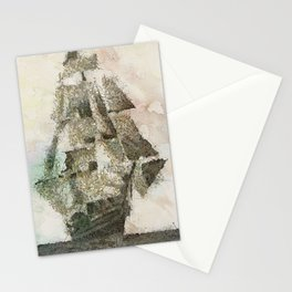 Mary Celeste - a ghost ship Stationery Cards