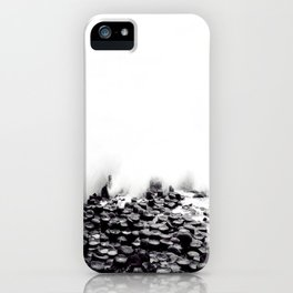 Fog Wave on the Slope iPhone Case