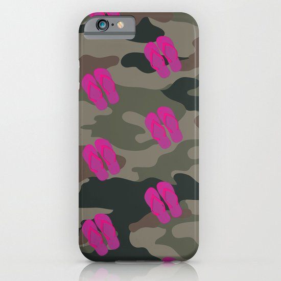 I saw Cady Heron wearing army pants and flip flops ... - quote from Mean Girls iPhone & iPod Case