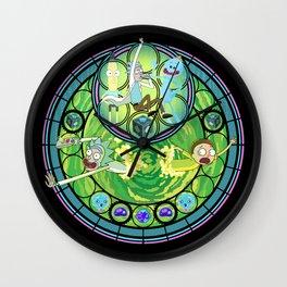 Rick & Morty Wall Clock