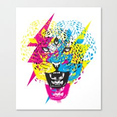 Wild Meow by Julao Canvas Print