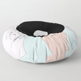 The Power of Music Floor Pillow