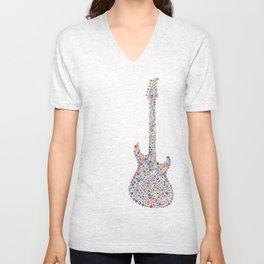 guitar / guitarra Unisex V-Neck
