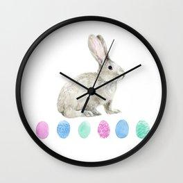 Easter bunny Wall Clock