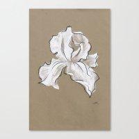 iris Canvas Prints featuring Iris  by Mich Li
