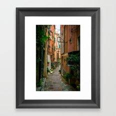 Vernazza, Cinque Terre, Italy Framed Art Print