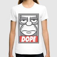 homer T-shirts featuring Dope Homer by MaNia Creations