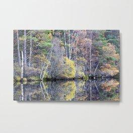 Autumn at Loch Garten Metal Print