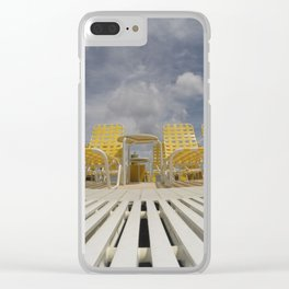 Lounging Clear iPhone Case