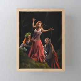 Moirae Framed Mini Art Print