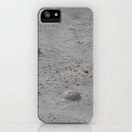 Bubbles of Mud iPhone Case