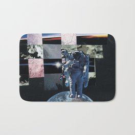 Astronaut Collage Bath Mat