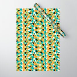 Scandy Triangles Wrapping Paper