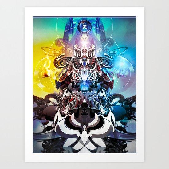 Cielo Art Print
