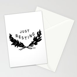 Just Resting Stationery Cards