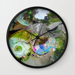 Virtual Surreality Monad 4D View No. 1 by Oli Goldsmith Wall Clock
