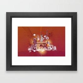Wanna Go Framed Art Print