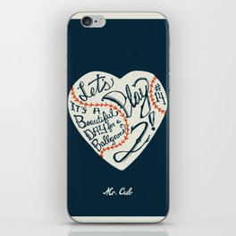 Mr. Cub iPhone Skin