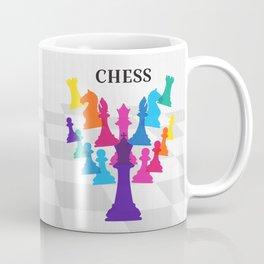 Chess on white Coffee Mug
