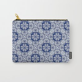 Portuguese Tile Pattern #2 Carry-All Pouch