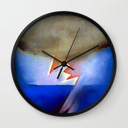 Georgia O Keeffe Storm Wall Clock