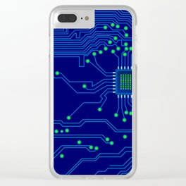 Electronics board Clear iPhone Case
