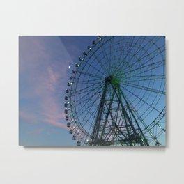 Skywheel Morikoro Park Metal Print