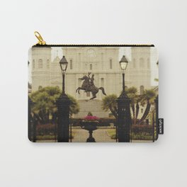 New Orleans Looking Through Jackson Square Carry-All Pouch