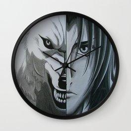 wolfs rain 6 Wall Clock
