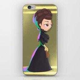 Elisabeth Dark iPhone Skin