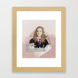 Hermione Granger - The Brightest Witch of Her Age! Framed Art Print