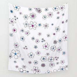 Pocket Full of Posies Wall Tapestry