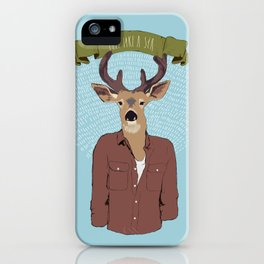 Feel like a sir iPhone Case