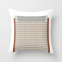 Torre América Throw Pillow