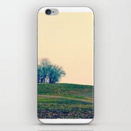 Rolling Land Pink iPhone Skin