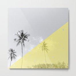 Island vibes - sunny side Metal Print