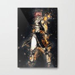 Natsu - Fairy Tail Metal Print