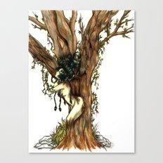 Elemental series - Earth Canvas Print