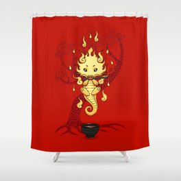 Dragon Tea Shower Curtain