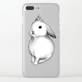 Princes bunny Clear iPhone Case