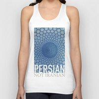 persian Tank Tops featuring Persian Pride by Steiner Graphics