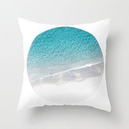 Sand & Beach Throw Pillow