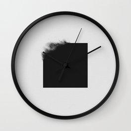 black 02 Wall Clock