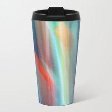 abstract Gladiolus #1 Metal Travel Mug